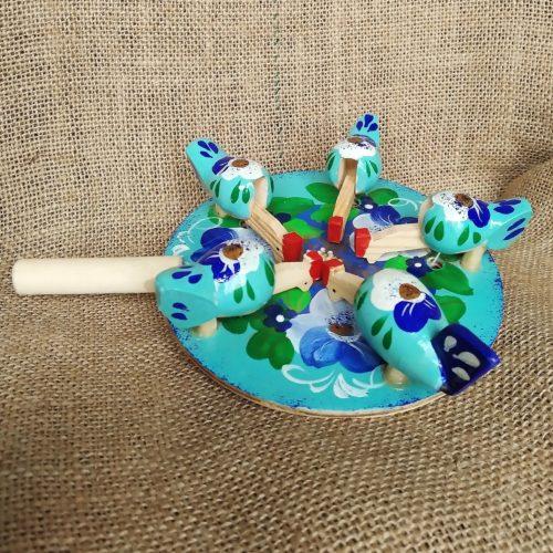 Богородская игрушка «Курочки»
