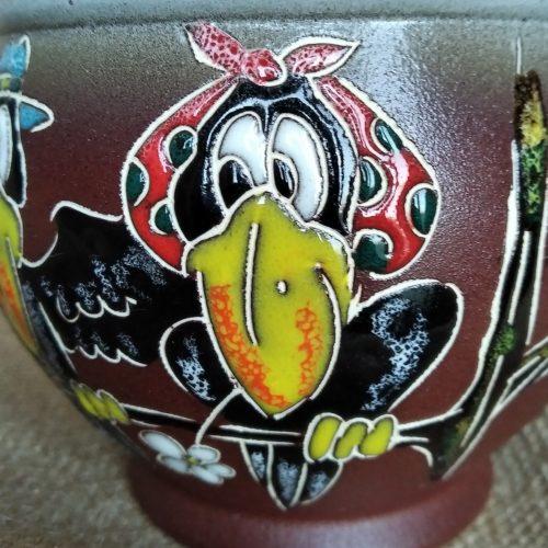 Кружка керамическая «Вороны»