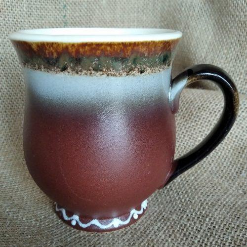 Чашка керамическая чайная «Синий слоник»