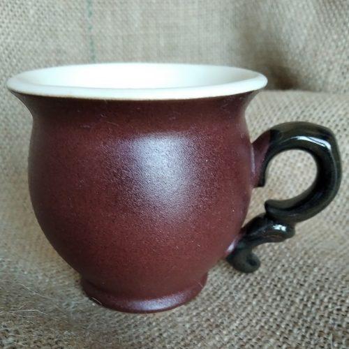 Чашка кофейная керамическая «Синий бегемотик»