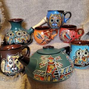 Чайник, турка, чашки 1