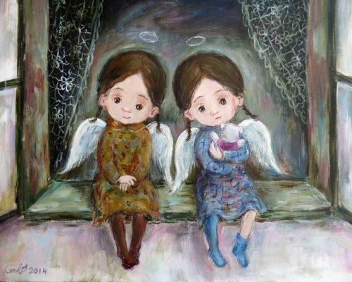 Чакветадзе Нино. Ангелочки. 1