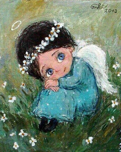 Чакветадзе Нино. Девочка-ангел. 1