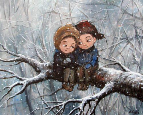 Чакветадзе Нино. Зима. 1